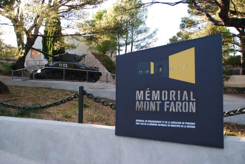 Mémorial mont Faron Toulon
