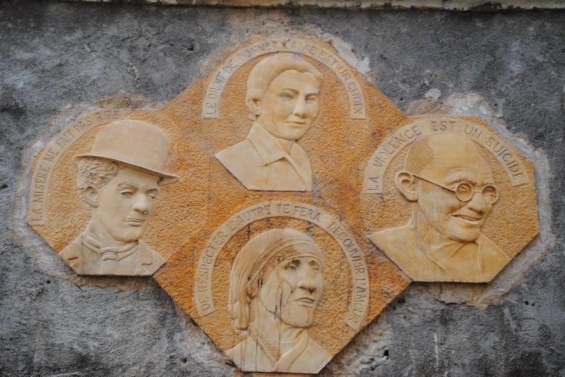 Une sculpture à Moulins