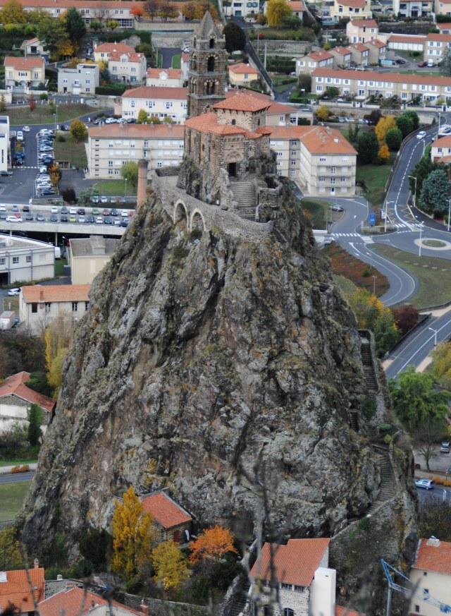 visiter-puy-en-velay-eglise Saint-Michel d'Aiguilhe