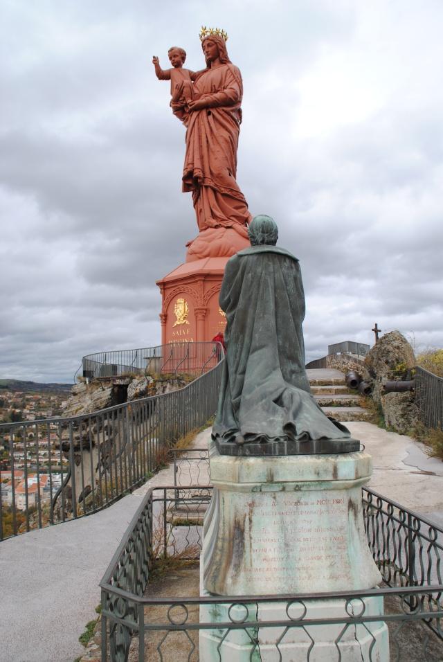 visiter-Statue de Notre-Dame de France