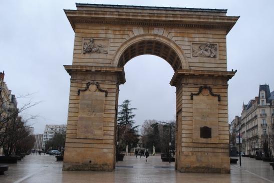 L'arc de triomphe de Dijon
