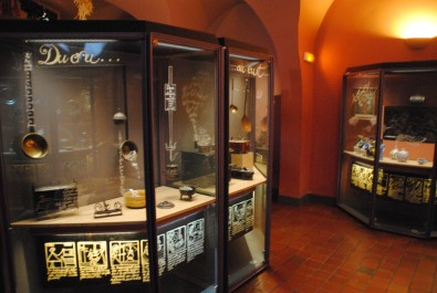 Le musée archéologique de Dijon.