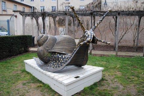 Une sculpture à Beaune
