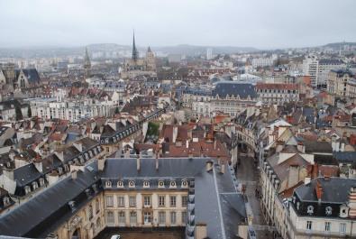 Vue depuis la tour Philippe le Bon.