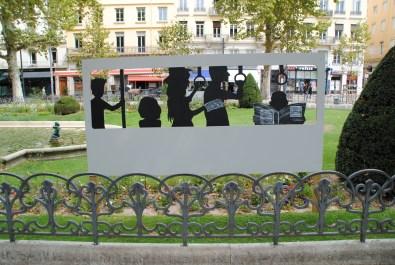 Une curiosité à Saint-Etienne.