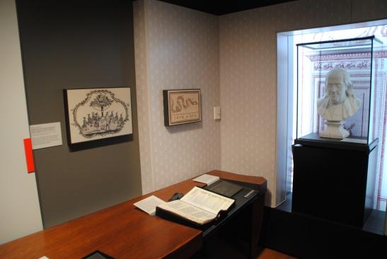 Le musée de Benjamin Franklin