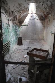 L'intérieur de l'Eastern State Penitentiary.