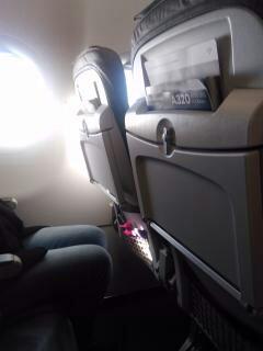 Illustration intérieur d'avion
