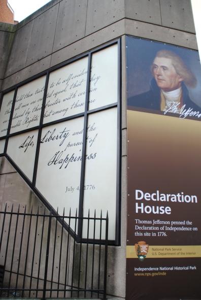 La Déclaration d'Indépendance des Etats-Unis s'est déroulée en 1776, à Philadelphie.