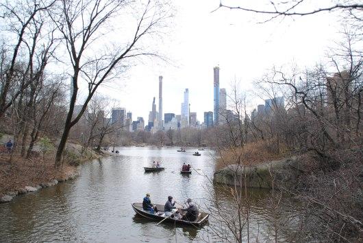 Il ne faut pas découvrir Central Park au mois de mars.