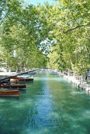 Photo prise depuis le pont des Amours.