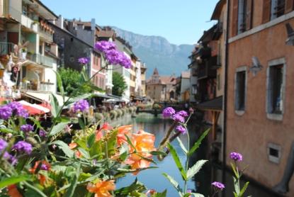 Centre-ville d'Annecy.