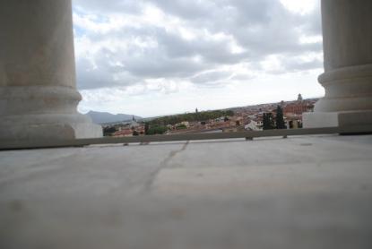 Vue depuis la Tour de Pise.