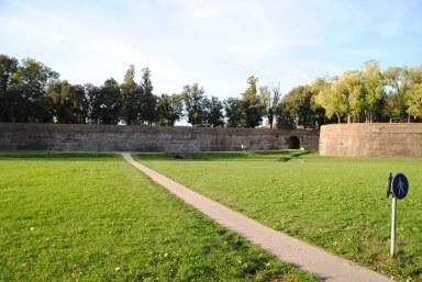 Les remparts de Lucques.