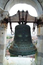 Une cloche sur la Tour de Pise.