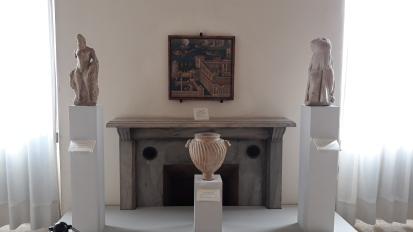 L'intérieur du musée Peggy Guggenheim à Venise.