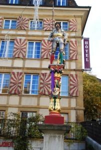 La fontaine du Banneret est la plus ancienne fontaine construite à l'extérieur des premières fortifications de la ville.