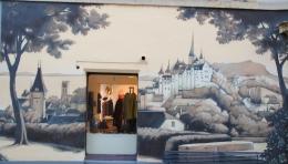 Le street-art à Neuchâtel.