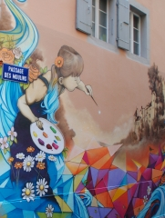 Le street-art au passage des Moulins