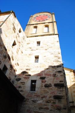 La tour de Diesse est un véritable incontournable lors d'une balade dans la vieille ville.