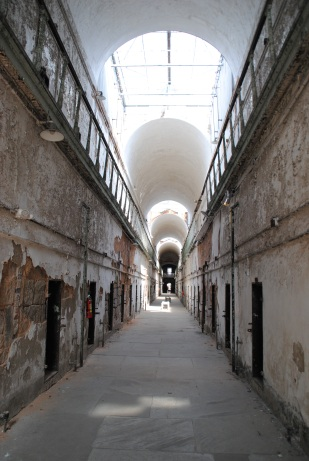 L'Eastern State Penitentiary, à Philadelphie.