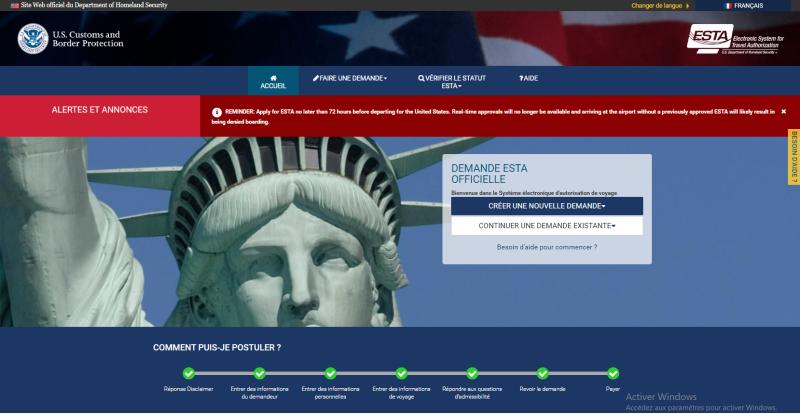 Le site officiel