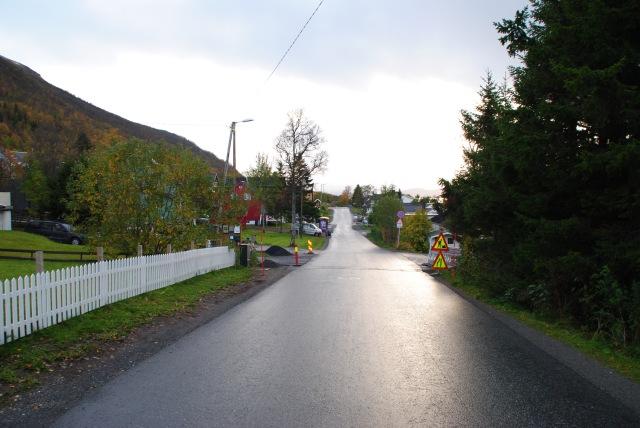Une route de Norvège.