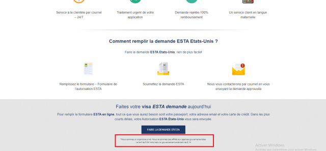 site esta-formulaire.fr