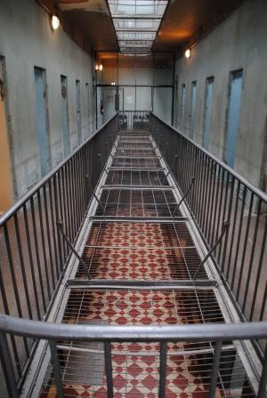 L'intérieur de la prison de Montluc.