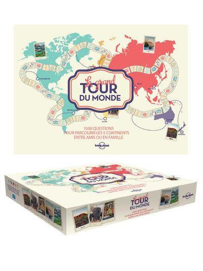 Le grand tour du monde (Lonely Planet).