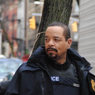 L'acteur Ice-T de la série New York unité spéciale.