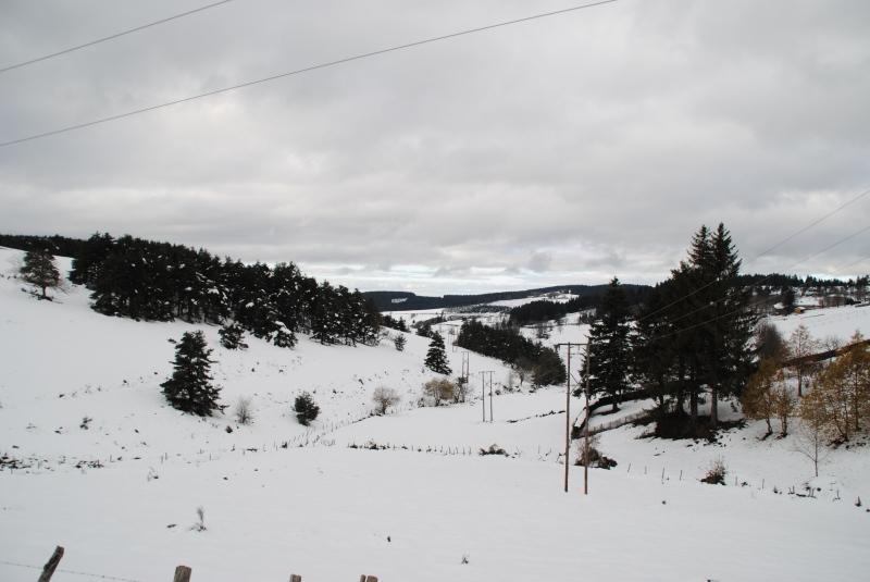 Neige, parc naturel régional du Pilat