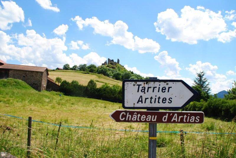 Le château d'Artias