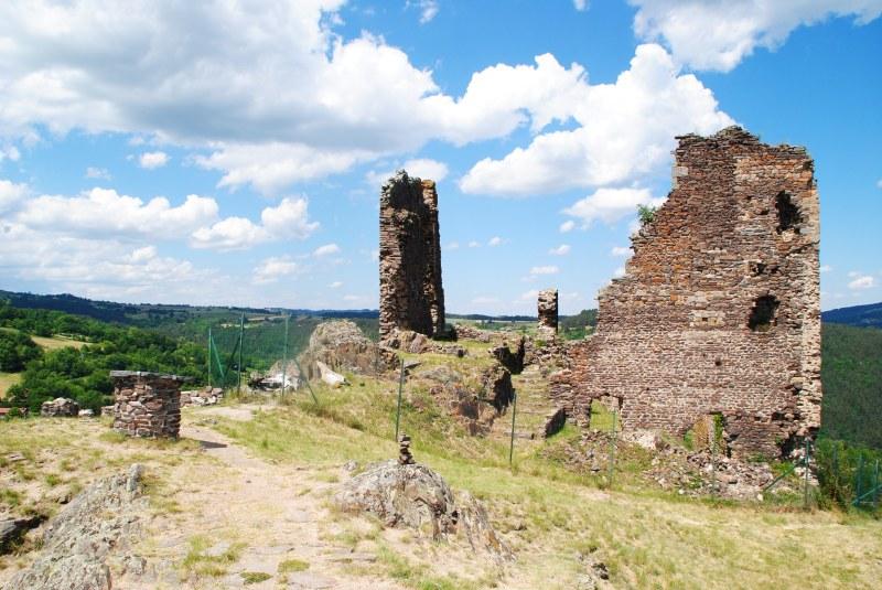 Le château d'Artias, Retournac