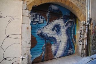 Une devanture de magasin, Lyon