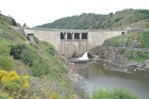 Le barrage de Grangent