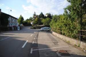 Le parking de Saint-Victor-sur-Loire