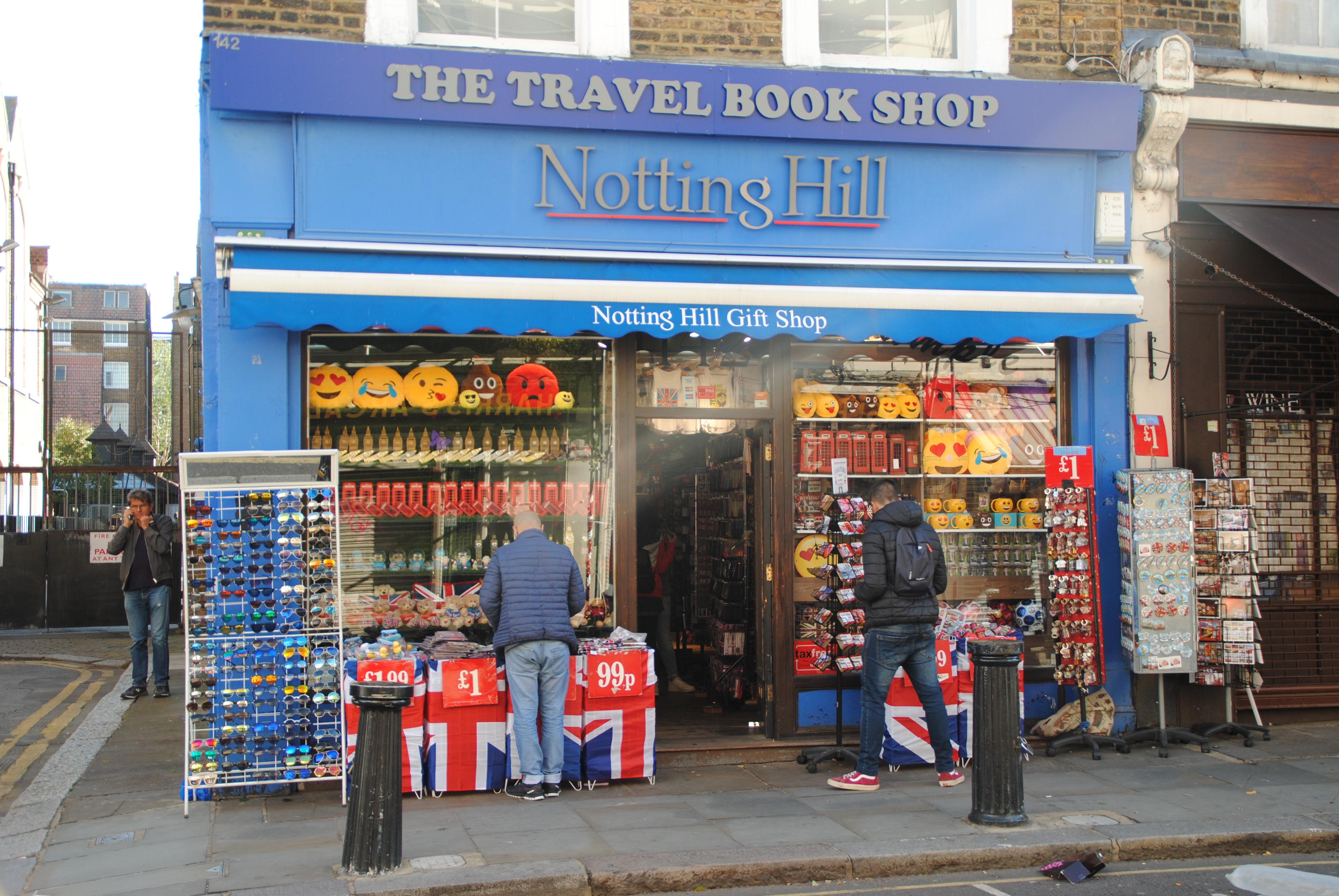 Librairie Coup de foudre à Notting Hill