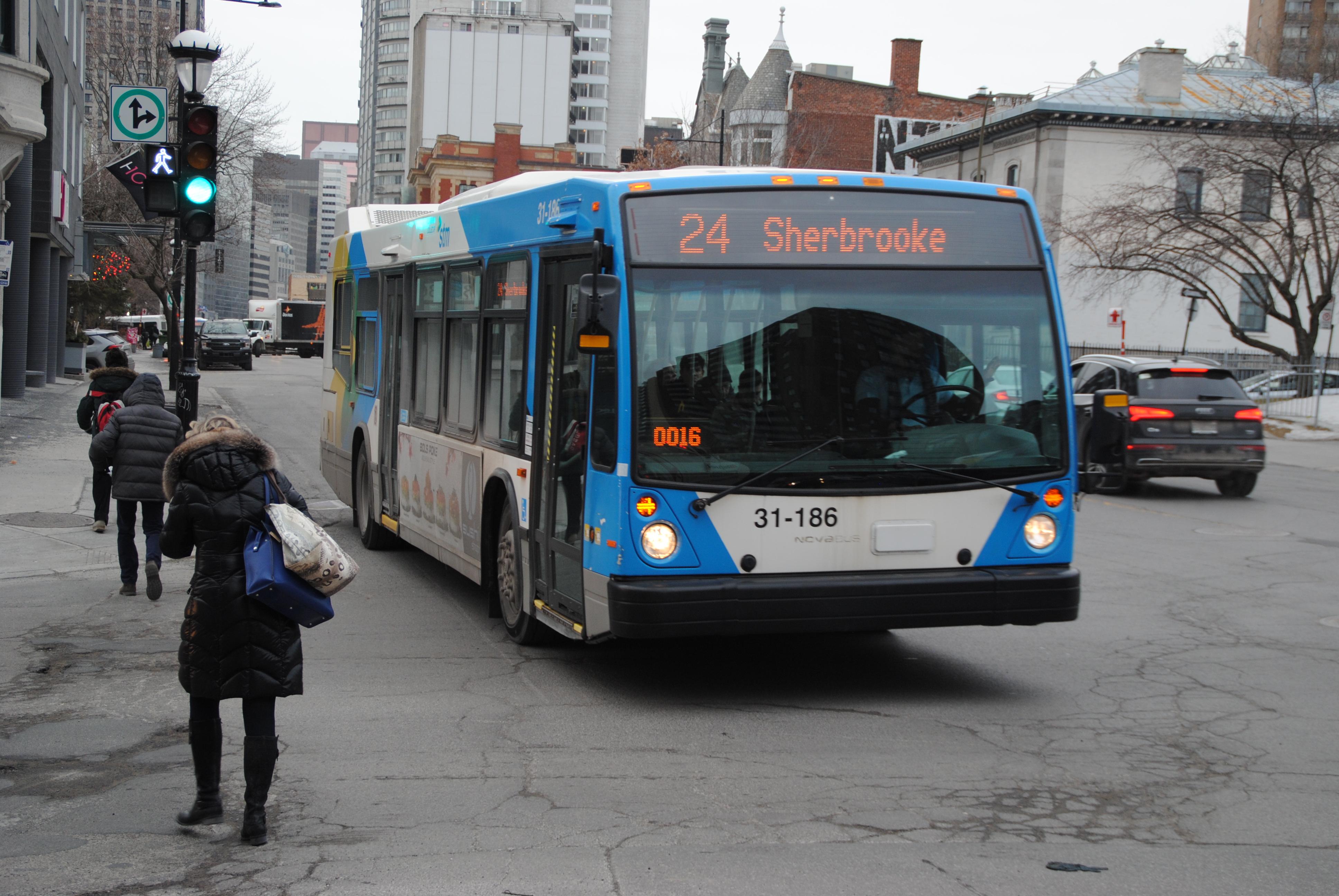 Bus montréal