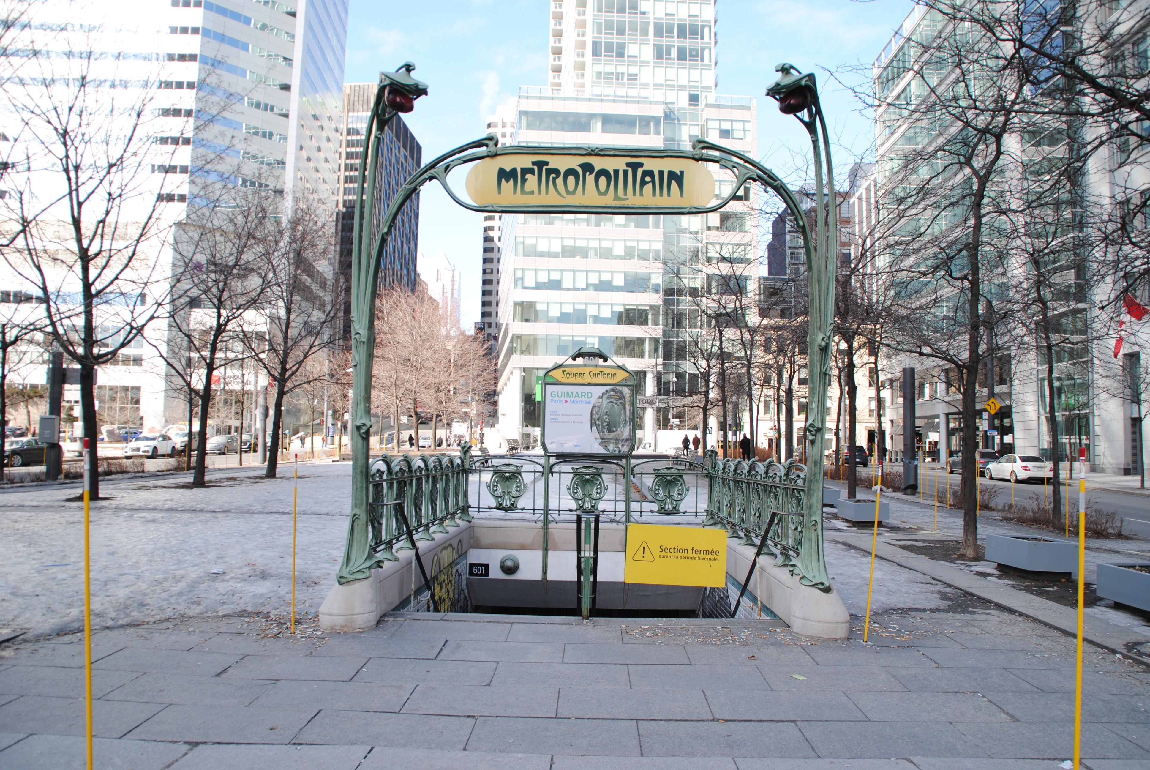Métro insolite Montréal